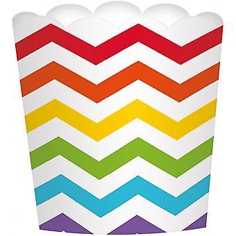 Candy Tray Rainbow 24 Piece 7 Cm