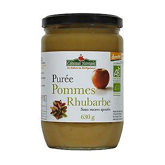 Sugar-Free Rhubarb Apple Puree 630 g