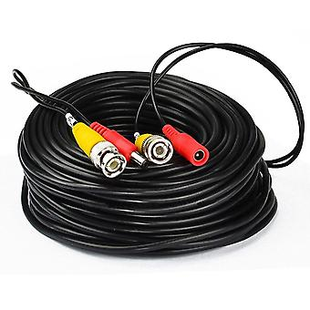 Ahd Camera Cables Bnc Output Dc Plug Cable For Analog Ahd Cctv Dvr System