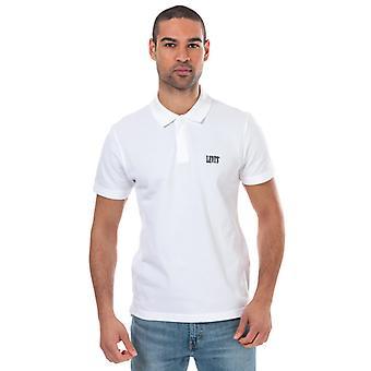 Menn's Levis Autentisk Logo Polo Skjorte i Hvitt