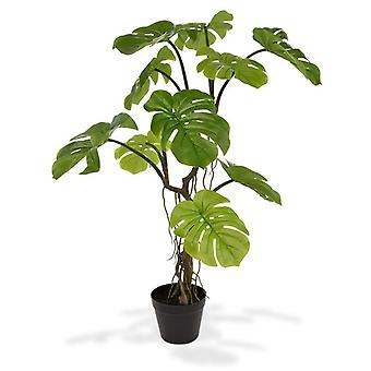 Planta artificial Monstera artificial de 90 cm