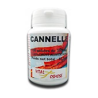 Cinnamon bark 350 mg BIO 100 capsules of 350mg
