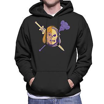 Mästare i universum han man hälften Skeletor Män & s Hooded Sweatshirt