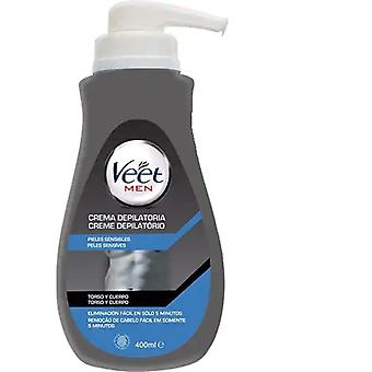Veet Depilatory Shower Cream for Men 400 ml