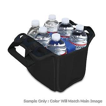 Six Pack- Blk (Kansas City Chiefs) Refrigerador de impresión digital