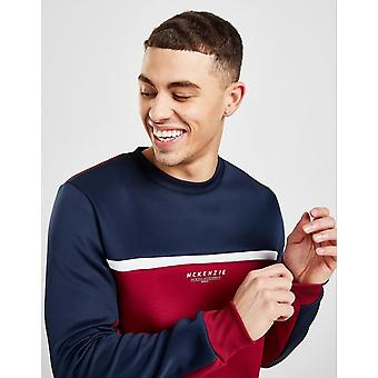 New McKenzie Men's Patton Poly Crew Sweatshirt from JD Outlet Red