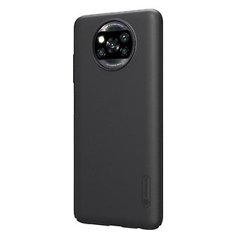Nillkin Xiaomi Poco X3 NFC Frosted Shield Case - Shockproof Case Cover Cas Black