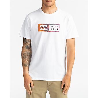 Billabong Menn's T-skjorte ~ Omvendt hvit