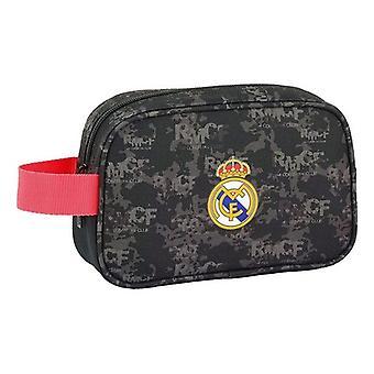 School Toilet Bag Real Madrid C.F. Black