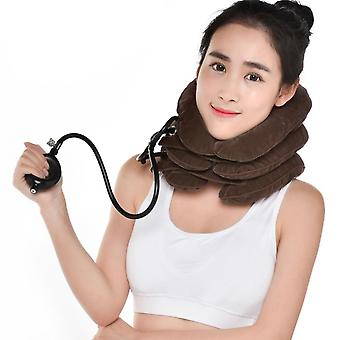 Luft oppustelige livmoderhalskræft hals hals trækkraft traktor støtte massage pude smertelindring slappe sundhedspleje nakke hoved båre