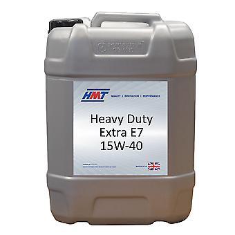 HMT HMTM363 Heavy Duty Extra E7 15W-40 Diesel Engine Oi 20 litre / 4 Gallon