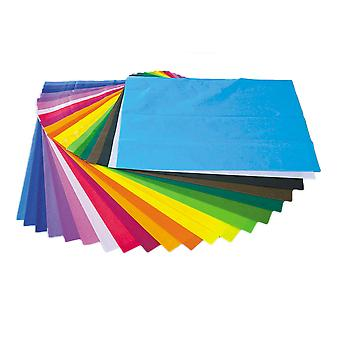 Bumper Tissue Paper Pack - 100 500 x 750mm Sheets in 20 Colours