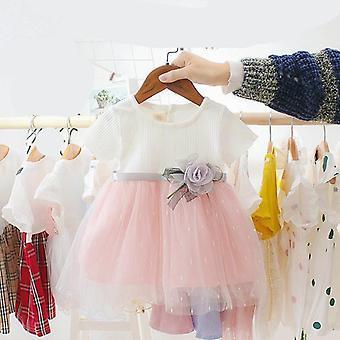New Fashion Baby Casual Mesh Dress, Sleeveless Dress