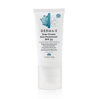 Derma E Therapeutic Scar Cream Sun Protectant SPF 35 43g/1.5oz