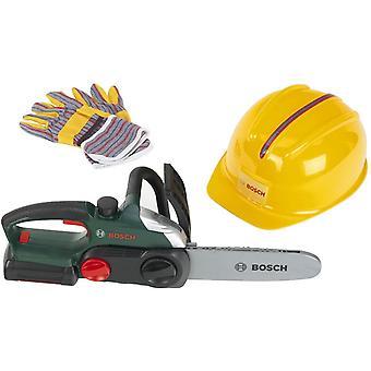 HanFei 8456 Bosch Kettensge, Helm, Handschuhe, Spiel