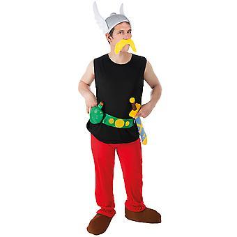 Volwassen Asterix-vermomming-Asterix en Obelix