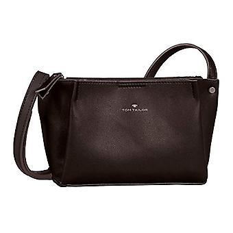 Tom Tailor Acc Tania, Women's Shoulder Bag, Dark Brown, S