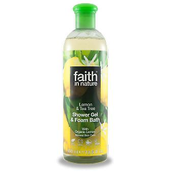 Glauben In der Natur - Lemon & Tee Baum Dusche Gel/FB 400ml