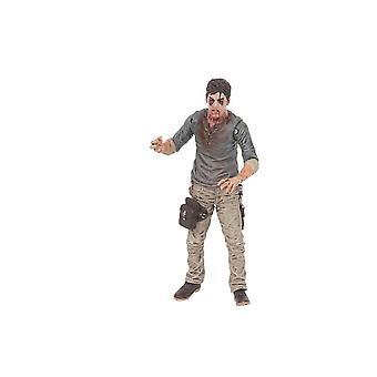 Cell Block Flu Walker Poseable Figure from The Walking Dead