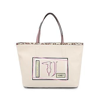 Trussardi -BRANDS - Bags - Shopper - LIQUIRIZIA-75B00415-99W002 - Ladies - bisque,rosybrown