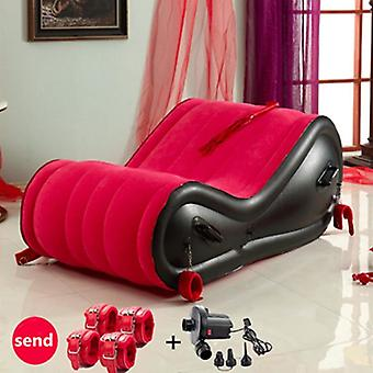 כסא אוויר נייד, ספה מתנפחת עמידה למים לחוף חיצוני, שינה