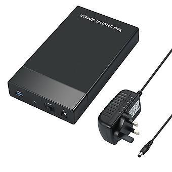 Externí skříň pevného disku USB pevný disk box pro 10tb 2.5 hdd pouzdro 3.5