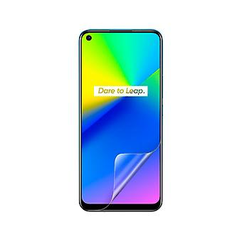 Celicious Vivid Invisible Glossy HD Screen Protector Film Compatible with Realme 7i [Pack of 2]
