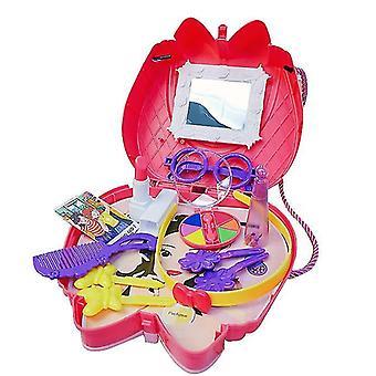 メイクアップ16個の子供のおもちゃセットキッチンクッキングセット化粧品バッグドクター幼稚園ギフトdt5283