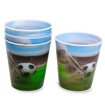 Fußball-Cups, 4Pc.
