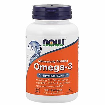 Agora Foods Omega-3 1000 mgs, 100 géis macios