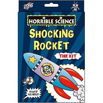Chockerande raket hemsk vetenskap set