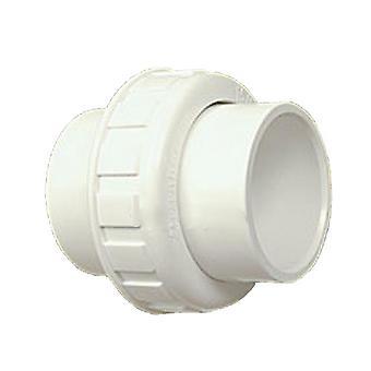 """Praher 150-100 1.5"""" SKT PVC Full Flow Union"""