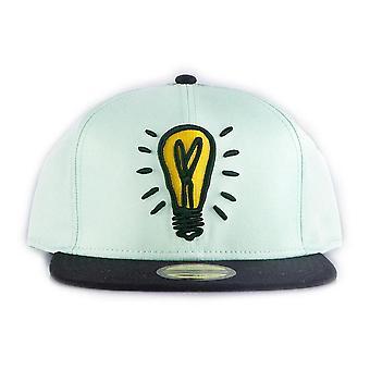 Monopoly Light Bulb Icon Snapback Baseball Cap