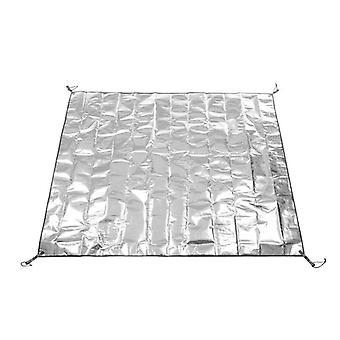 Tapis résistant à l'humidité en feuille d'aluminium