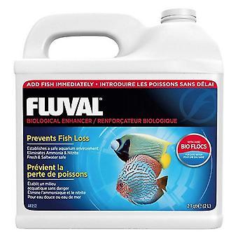 תוסף אקווריום משפר ביולוגי Fluval - 2.1 qt (67 אונקיות)