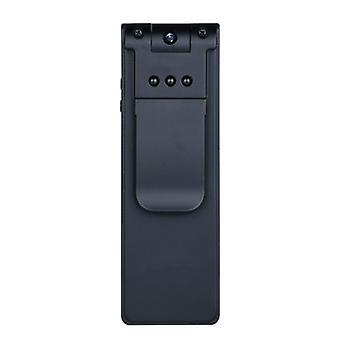 Mini 1080p HD camera, 180 degree rotation, infrared night vision, motion detection(Black)