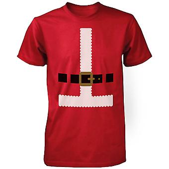 Lustige rote Santa Outfit rot Kurzarm-Weihnachten Graphic Tee