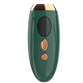 Trwałe owłosienie światłem pulsacyjnym 1 milion błysków, nadaje się do bikini pod pachami (zielone)