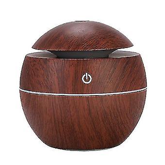 Powered hand fans misters mini atomizing humidifier ultrasonic home creative wood grain desktop mute aroma diffuser air