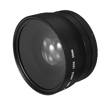 58mm 0.45X Super širokoúhlý objektiv pro Canon EOS 1000D 1100D 500D Rebel T1i T2i T3