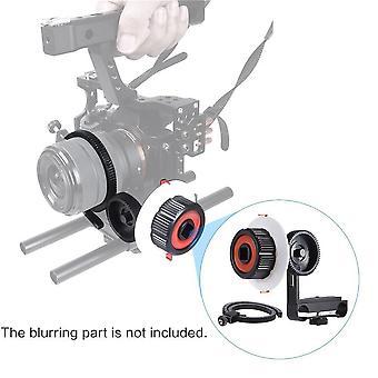 Nagy szilárdságú alumínium ötvözetű kamera Kövesse Focus alkalmas Sony A7 fényképezőgép