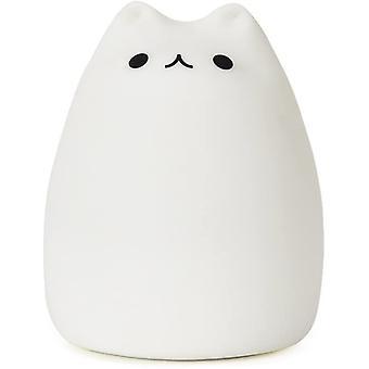 Cute Cat Led Night Light Silikonowe Cat Light Usb Charging Ciepłe białe światło