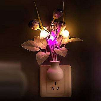 Sovrum Dekor Ljusavkänning Led Night Light Bed Lamp Night Lamp