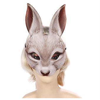 Halloween Easter Mardi Gras Animal Mask Half Face Rabbit Mask