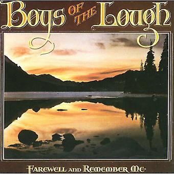 Garçons du Lough - adieu & Remember Me [CD] USA import