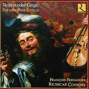 Francois Fernandez - Violin or Fiddle-the Dresden School [CD] USA import