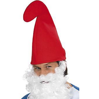 כובע גמד הגמד פיות הפיה Gnom כובע אדום