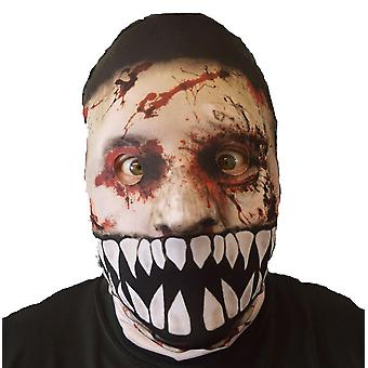 Wild star hearts - monster mouth zombie  - lycra face mask