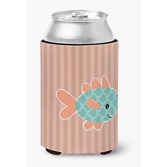 Carolines tesori BB7118CC pesce lattina o bottiglia Hugger