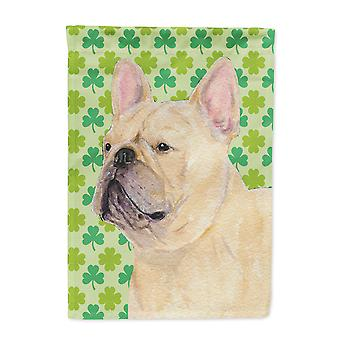 Carolines Treasures  SS4416-FLAG-PARENT French Bulldog St. Patrick's Day Shamroc